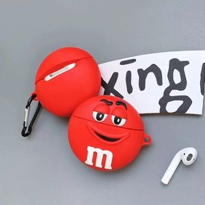 🆕 Apple AirPod Protective Case Cover  M&M Red ❤️